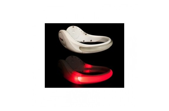 Vizibl Shoe Safety clip light - red