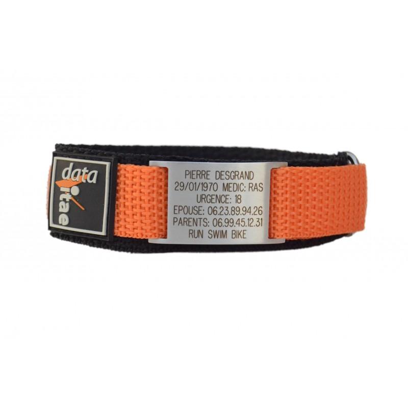 Le Baroudeur - Bracelet d'identification