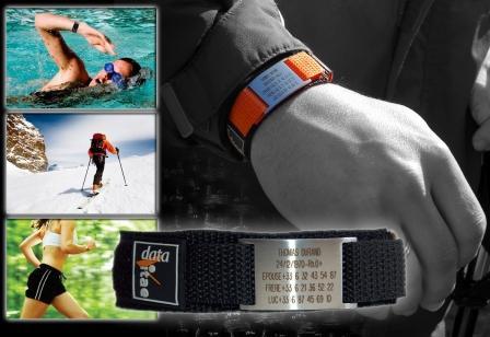 bracelet securite sport